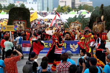 'MAMF' festival, Korea's largest multicultural event held last year